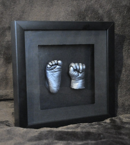 Beauty Bump Casting-3D Baby Foot And Hand Cast Framed-Surrey-Essex-Greater London