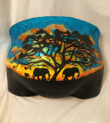 Beauty Bump Casting - Africa Style Belly Cast - Surrey - Greater London